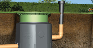 Wastewater Cesspool Carat  tank - Freeflush Rainwater Harvesting Ltd.