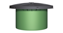 Maxi drinking water telescopic dome shaft with cover - Freeflush Rainwater Harvesting Ltd.