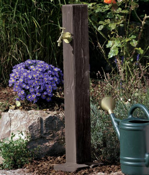 Watering Posts Original, Natural, Wood - Freeflush Rainwater Harvesting Ltd.