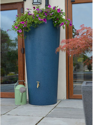 380L Tall City Water Butt Planter - Freeflush Rainwater Harvesting Ltd.