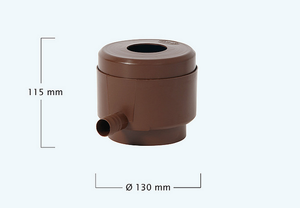Rocky effect slim wall water butt - 400 litre capacity - Freeflush Rainwater Harvesting Ltd.