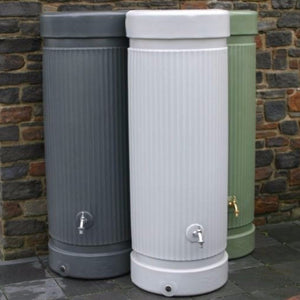 Column Water Butt – 300 & 500 Litres - Freeflush Rainwater Harvesting Ltd.