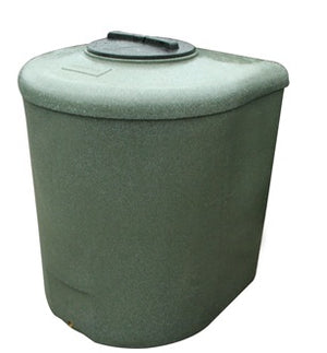 D-Shaped Water Tank 710L and 1000L - Freeflush Rainwater Harvesting Ltd.