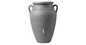 Antique amphora terracotta vase water butt, 250, 360 and 600 litre capacity - Freeflush Rainwater Harvesting Ltd.