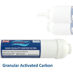 Hydro+ Gac Inline Water Filters - Freeflush Rainwater Harvesting Ltd.