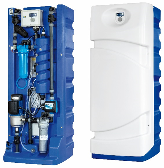 HydroInfinity Rainsafe rainwater to drinking water treatment console