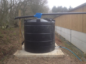 Commercial Rainwater Harvesting Filter - 2 stage - 110mm ZF -200m2 - Freeflush Rainwater Harvesting Ltd.