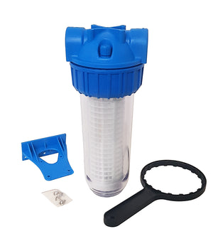 "Prestige Water 10"" Cartdrige Filter Housing with filter - Freeflush Rainwater Harvesting Ltd."