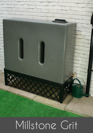 500 Litre Slim Water Butt Rain Harvesting Tank - Freeflush Rainwater Harvesting Ltd.