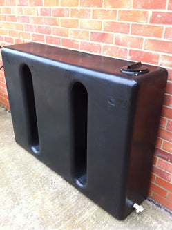 350 Litre  Ultra Slim Water Butt - Freeflush Rainwater Harvesting Ltd.
