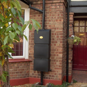 100 litre The Original Prestige Wall Mounted Water butt - Freeflush Rainwater Harvesting Ltd.