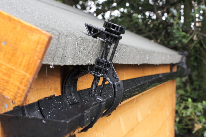 Hall's clip-on shed guttering kit