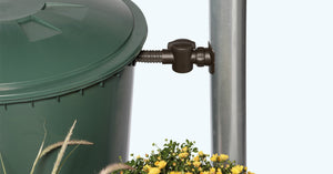 Round water butt 200, 300 and 500 litre - Freeflush Rainwater Harvesting Ltd.