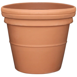 180 litre Prestige large terracotta style pot planter - Freeflush Rainwater Harvesting Ltd.