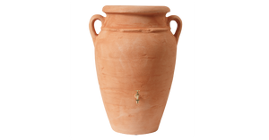 Antique amphora terracotta vase water butt