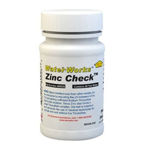 Water Test Kit for Zinc (50 strips)