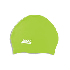 zoogs swimming Stretch Fit Cap green swim caps for kids