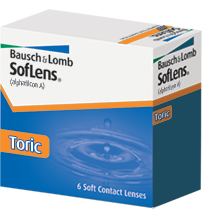 Bausch + Lomb Soflens Toric for Astigmatism (Bausch & Lomb Soflens 66)