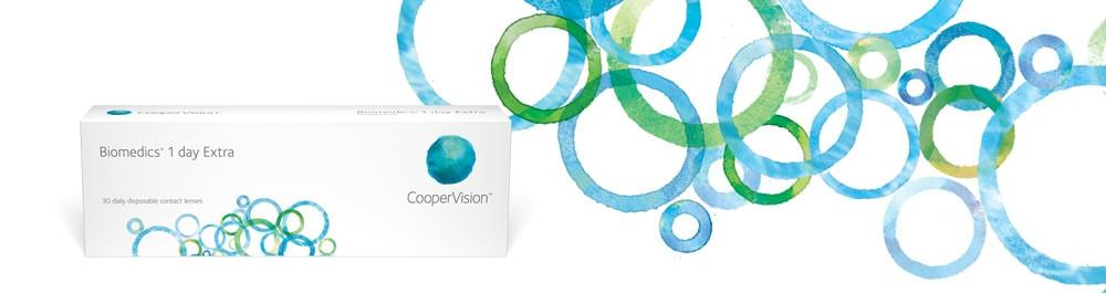 CooperVision Biomedics 1 day Extra Toric (Axis: 20°, 90°, 160°, 180°)