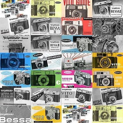 26 Voigtlander / Voigtländer manuals + 224 photos very good quality. PFDs DOWNLOAD! - Petrakla Classic Cameras