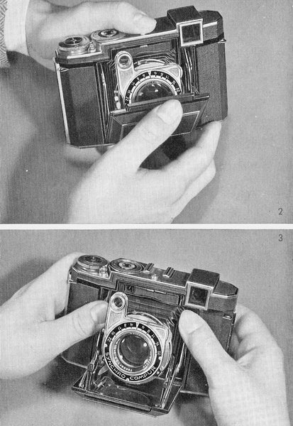 Super Ikonta I (B) Instruction book (Stuttgart). PDF DOWNLOAD! - Zeiss-Ikon- Petrakla Classic Cameras