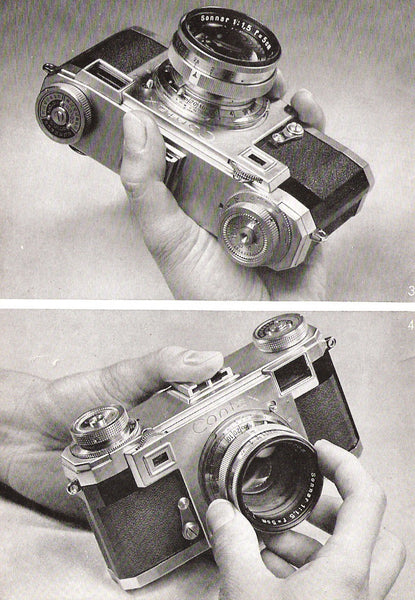 Contax IIa Manual (English) PDF DOWNLOAD! - Zeiss-Ikon- Petrakla Classic Cameras