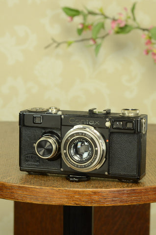 SUPERB! 1934 Zeiss Ikon Contax I, FRESHLY SERVICED! - Zeiss-Ikon- Petrakla Classic Cameras