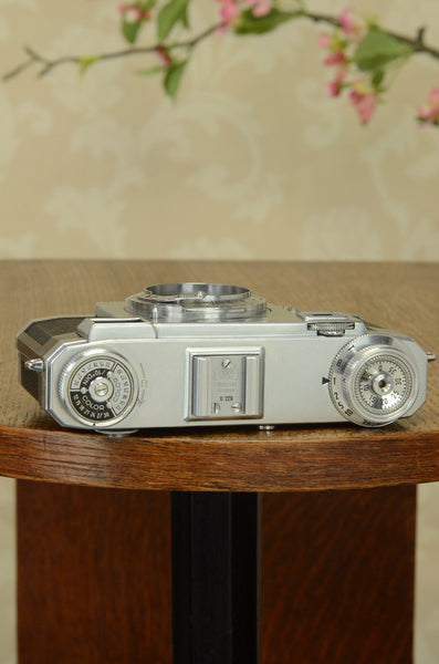 Excellent 1952 Zeiss Ikon Contax IIa,  Cleaned, Lubricated & Adjusted, CLA'd - Zeiss-Ikon- Petrakla Classic Cameras