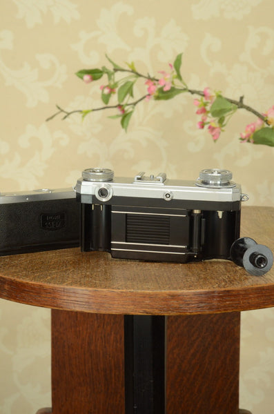 Excellent 1952 Zeiss Ikon Contax IIa,  Cleaned, Lubricated & Adjusted, CLA'd