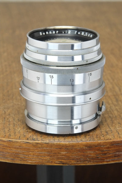 1938 Carl-Zeiss Jena  2.0/8.5cm (85mm) Sonnar Lens for Contax II