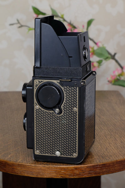 1934 Art-Deco Nickel-plated rolleicord CLA's, Freshly Serviced! - Frank & Heidecke- Petrakla Classic Cameras