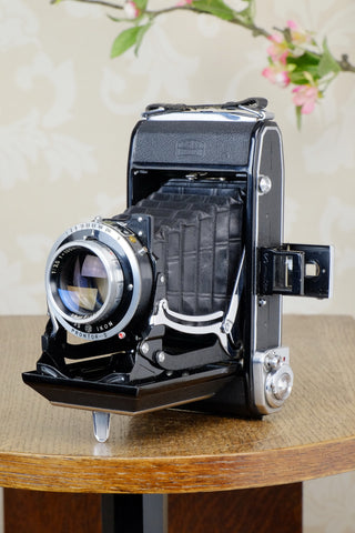 Near Mint! 1950 Zeiss-Ikon Ikonta C 6x9, CLA'd, Freshly Serviced!