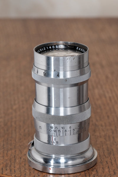 1937 CARL ZEISS SONNAR LENS for Contax II or III - Carl Zeiss Jena- Petrakla Classic Cameras