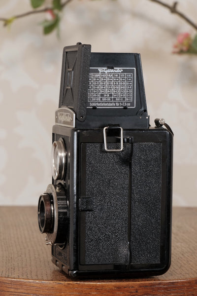 Superb 1938 Voigtlander Brillant 6x6 TLR, CLA'd, Freshly Serviced!