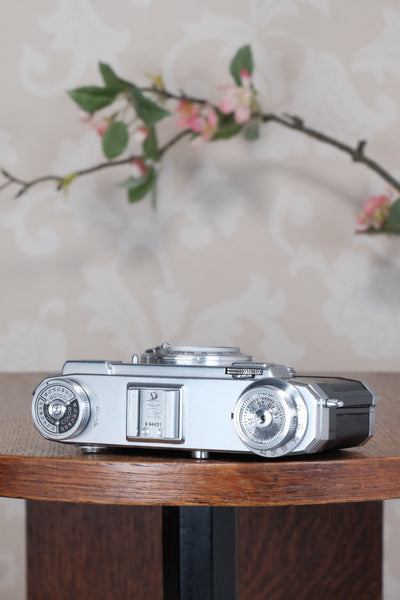 1953 Zeiss Ikon Contax IIa. CLA'd, Freshly Serviced!