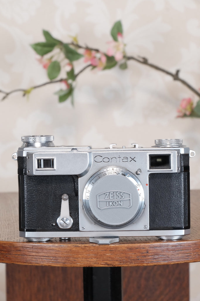 Superb! 1937 Zeiss Ikon Contax II Body, CLA'd, Freshly Serviced!
