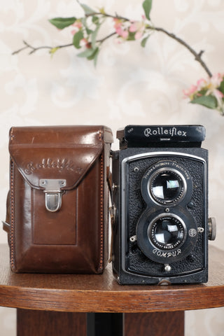 1934 Old Standard Rolleiflex, Freshly Serviced, CLA'd