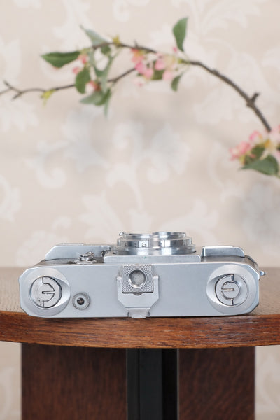 1936 Zeiss Ikon Contax II Body, CLA'd, Freshly Serviced!