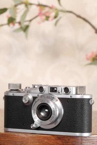 Excellent 1939 Leitz Leica IIIa, Freshly Serviced, CLA'd