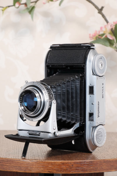 Excellent 1952 Voigtlander 6x9 Bessa II with Color-Skopar lens, Freshly serviced, CLA'd