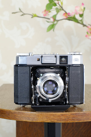 Near Mint! 1956 6x6 Zeiss Ikon Super Ikonta IV, 531/16 with Tessar lens, CLAd, Freshly Serviced!