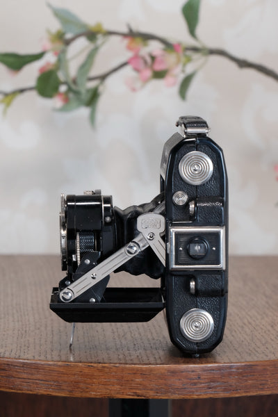 Superb 1935 ZEISS-IKON SUPER IKONTA A, 6x4.5, Tessar lensCLA'd, Freshly Serviced!