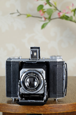 Superb! 1936 Nagel-Kodak 6x4.5 Duo camera, CLA'd, Freshly Serviced!