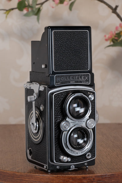 Near Mint! 1940 Rolleiflex Automat, Freshly Serviced, CLA'd!