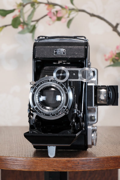 SUPERB! 1938 Zeiss Ikon Super Ikonta C 6x9, Tessar lens, CLA'd, Freshly Serviced!