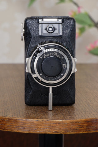 1930 Near Mint! Zeiss-Ikon Kolibri Camera, Freshly Serviced!
