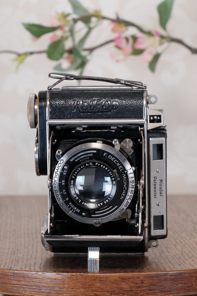 Superb! 1939 PLAUBEL ROLL-OP, 6x4.5 Coupled Rangefinder Camera, CLA'd  Freshly Serviced!