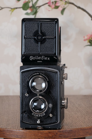 1935 Old Standard Rolleiflex, Freshly Serviced, CLA'd
