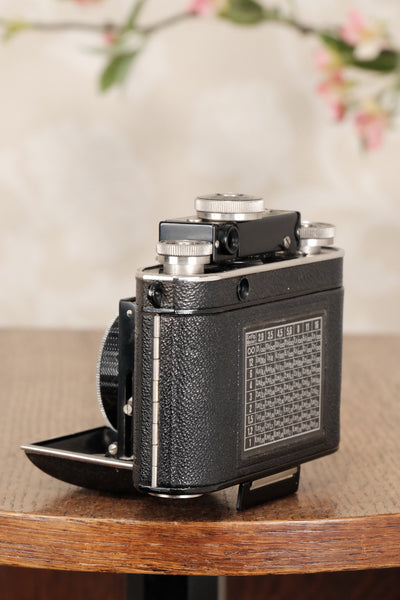 SUPERB! 1937 Certo Dollina II, 35mm Rangefinder camera, Freshly Serviced, CLA'd - Certo- Petrakla Classic Cameras