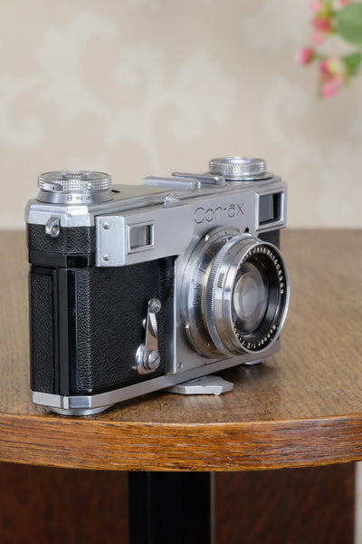 Excellent! 1939 Zeiss Ikon Contax II, Freshly Serviced!